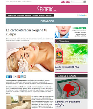 Carboxiterapia, en Estetic.es